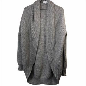 Aritzia Talula Open Cocoon Oversized Knit Cardigan